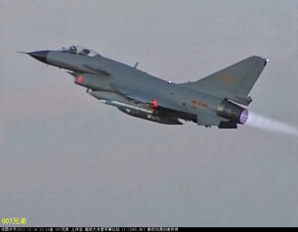 Chinese J-10 Fighter Jet in Combat Air Patrol (CAP) Configuration | Chinese Military Review