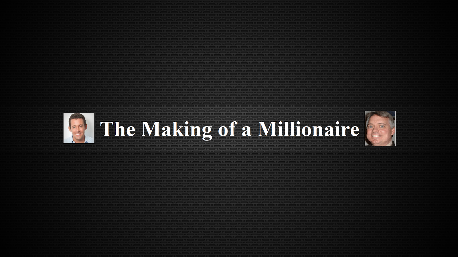 Making of a Millionaire Website