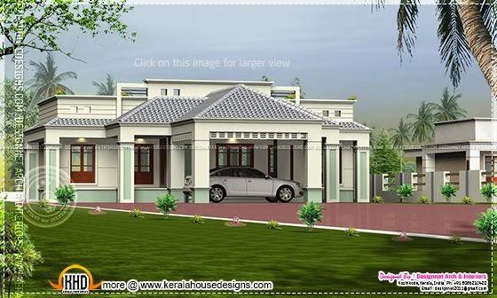 Single floor home