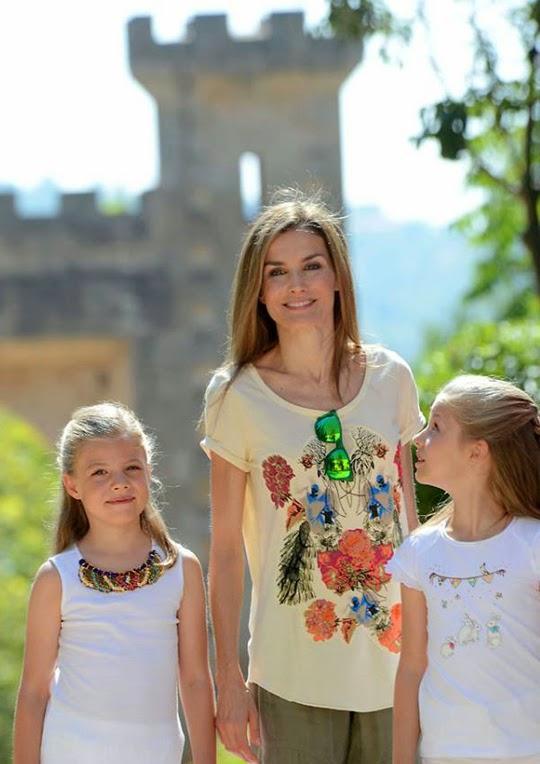 Reina Letizia en Mallorca