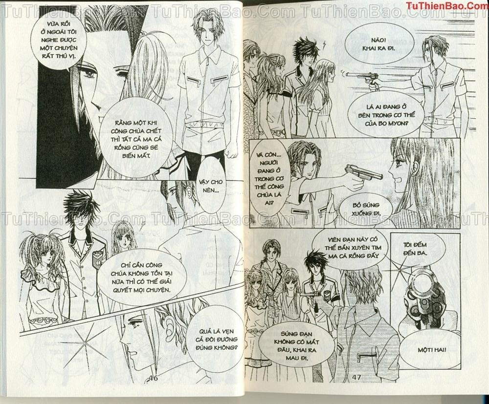 Ma cà rồng hộ mệnh Chapter 10 - Trang 22