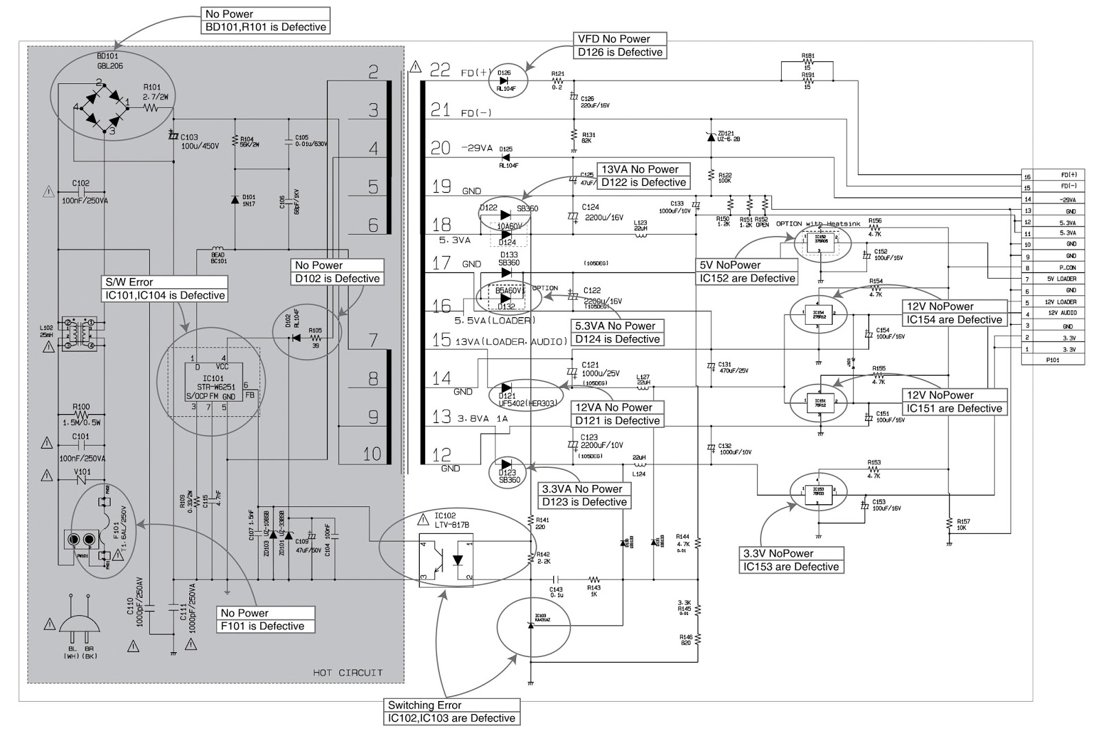 Unusual Frontech Smps Circuit Diagram Contemporary - The Best ...