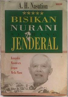 Buku Bisikan Nurani Seorang Jenderal A.H Nasution