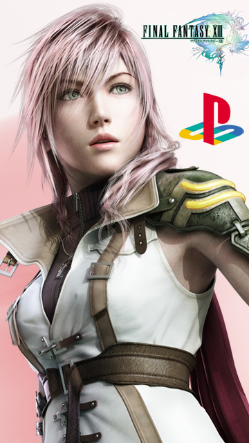 Wallpaper Final Fantasy XIII Playstation 3,