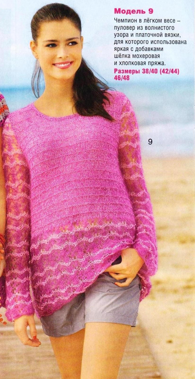 Примеры вязание болеро