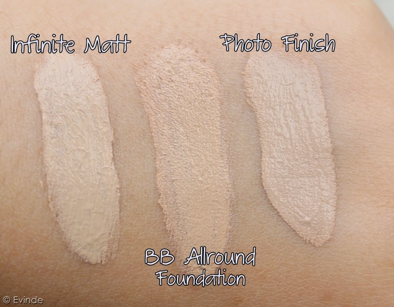 catrice photo finish foundation swatches