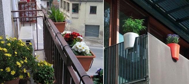 Mi rinc n de sue os ideas para decorar el balc n - Macetas para balcon ...