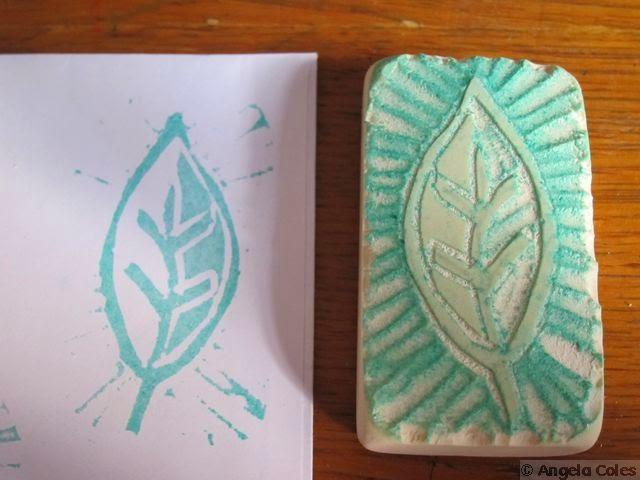 http://colestoucan.blogspot.com/2014/11/hand-carved-leaf-stamp-tutorial.html
