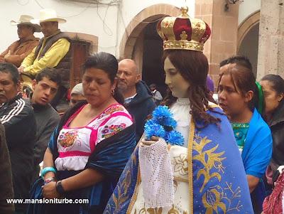 Imagen Peregrina de la Virgen de la Salud de Pátzcuaro