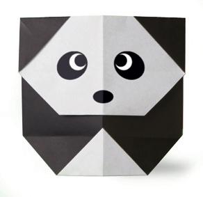 Origami Panda Head Diagram Tare Oragami Intermediate Diagrams Easy