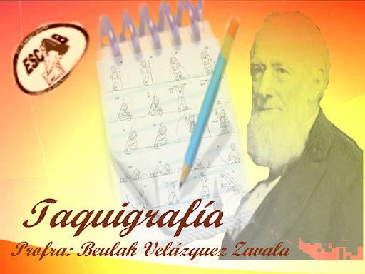 TAQUIGRAFIA ESCAB