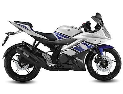 2013 Yamaha R15 V2.0 - Blue