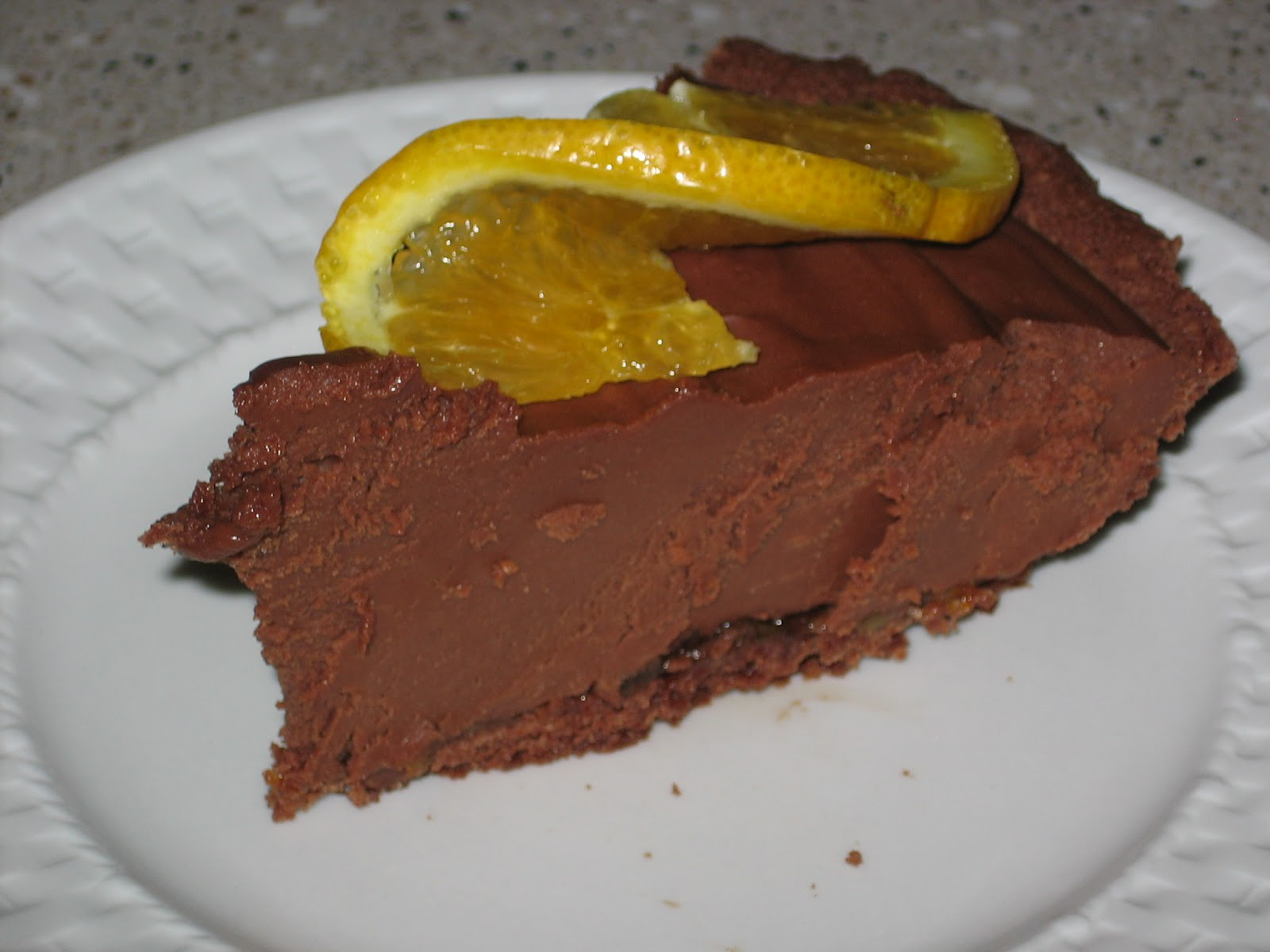 Orange-Chocolate Silk Pie Recipe — Dishmaps