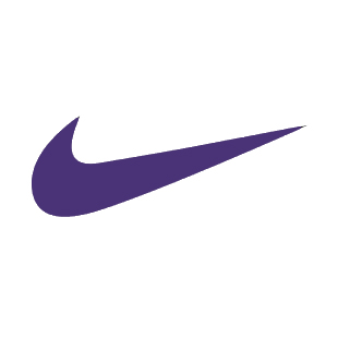 Purple Nike Logo Purpl...