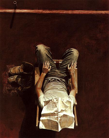 Doctor Ojiplático. Maxwell Doig. Pintura   Painting