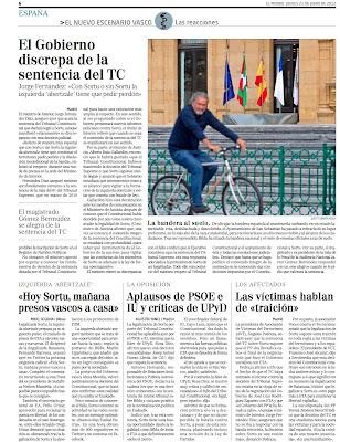 Rajoy debe reducir ya el tamaño de las CCAA y legislar el recorte del número de políticos