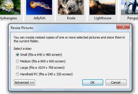 Resize Pictures Powertoy