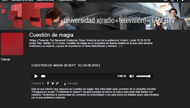 http://www.upv.es/rtv/radio/cuestion-de-magia/33871