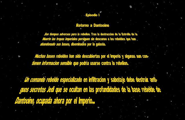 [Crónica] La era de la Rebelión I: Dantooine, están en Dantooine