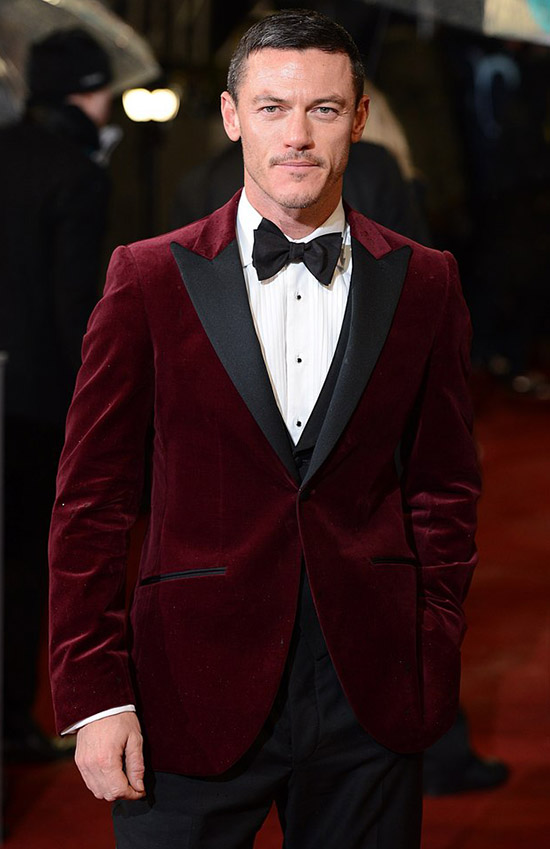 Burgundy Suede Suit Jacket | My Dress Tip