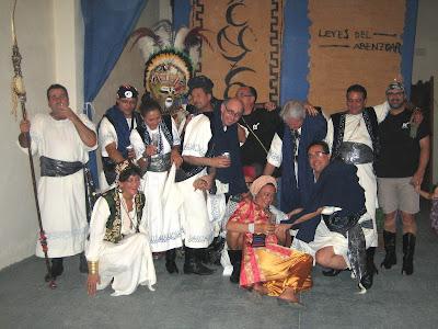 Escuadra de Moros Abenzoares. Fiestas de Moros y Cristianos de Caudete