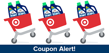 Purex detergent #Cartwheel #coupon