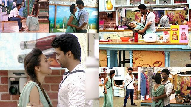 Kushal proposes Gauhar on National TV during task Kisko Pyar Karu