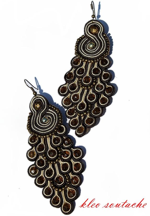 Etykiety: kolczyki/earrings Autor: Kleo soutache