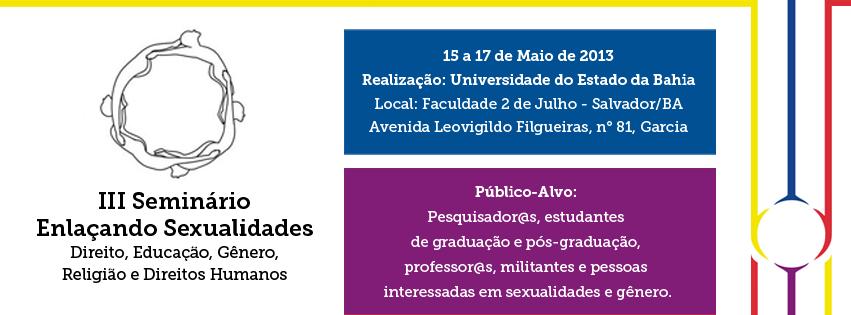 III Seminário Enlaçando Sexualidades