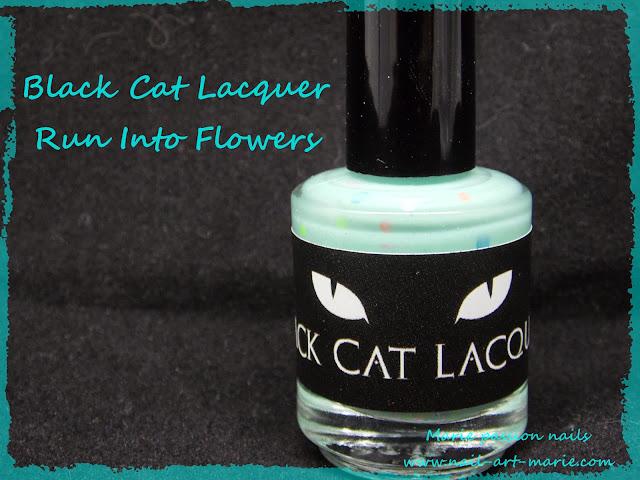 Black Cat Lacquer Run Into Flowers1