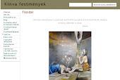 Kinva festménygaléria honlapja