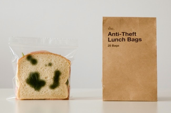"""Anti"" for lunch bags"