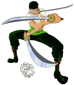 Render Roronoa Zolo+ One Piece