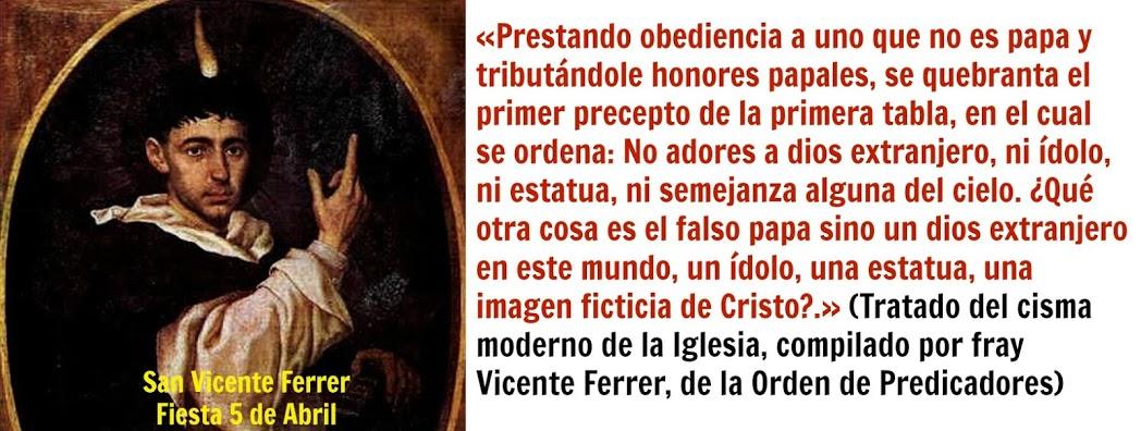 San Vicente Ferrer, ruega por nosotros