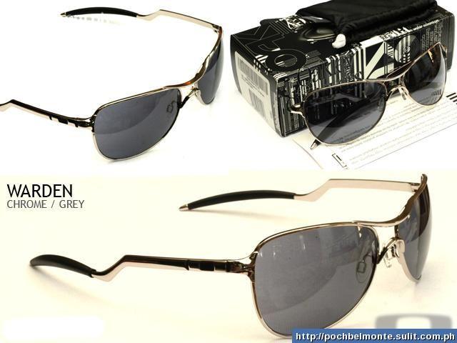 bb17174e5979e Óculos Masculino Oakley Warden Chrome