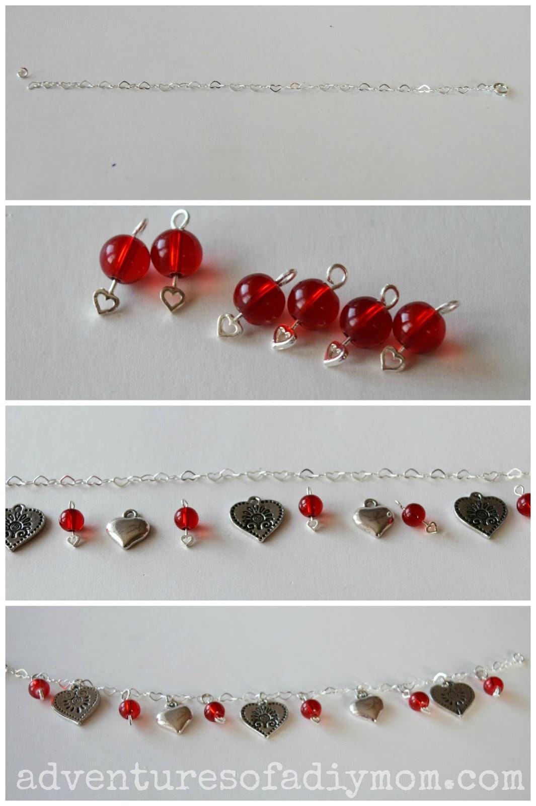 Valentines Bracelet Tutorial