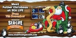 Father Christmas at the Sea Life Centre Weymouth Ticket information