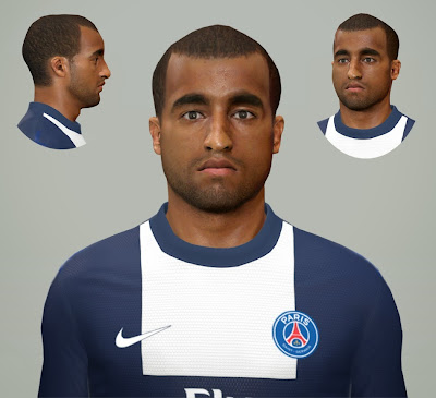 PES 2014 Lucas Moura Face by Junior_Tiroles