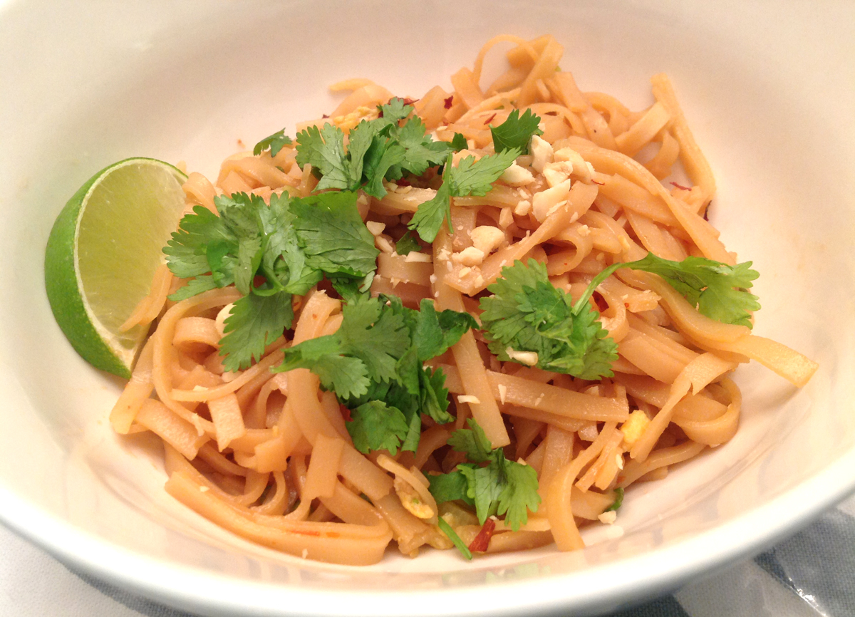 my back pages: vegetable pad thai