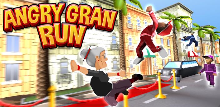 Angry Gran Run Game - Play online at