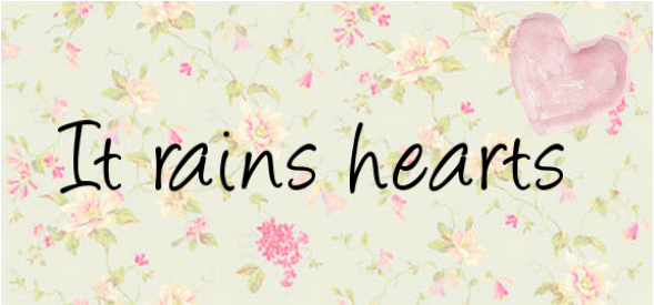 It rains hearts