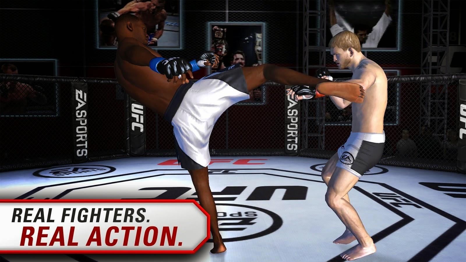 EA SPORTS\u2122 UFC Apk + Obb v1 6 847112 - Reis do android