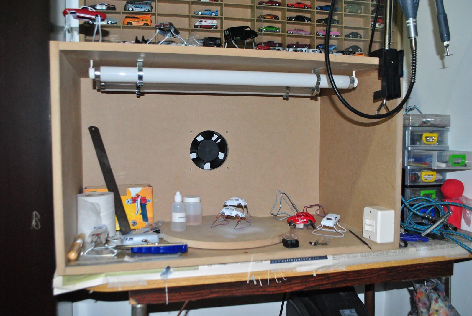 Spider customs cabine de pintura - Estufa para habitacion pequena ...