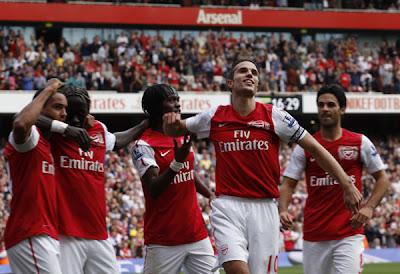 Arsenal 3 - 0 Bolton Wanderers (1)