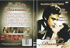 La maja desnuda (1958) - Carátula
