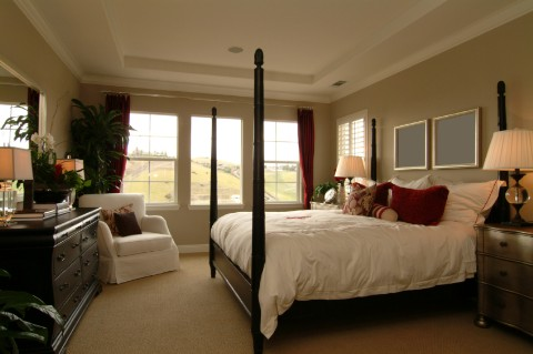Home decoration master bedroom decorating ideas for Master bedroom designs 2012