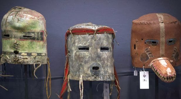 Native American masks sold in Paris to be returned to tribes