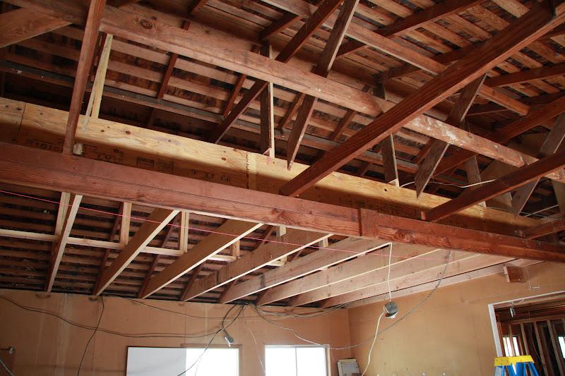 Nutmeg co new garage beam