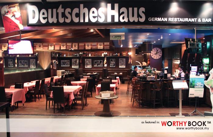 Deutsches Haus Worthybook Western