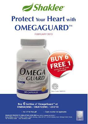 promosi omega guard beli 6 percuma 1
